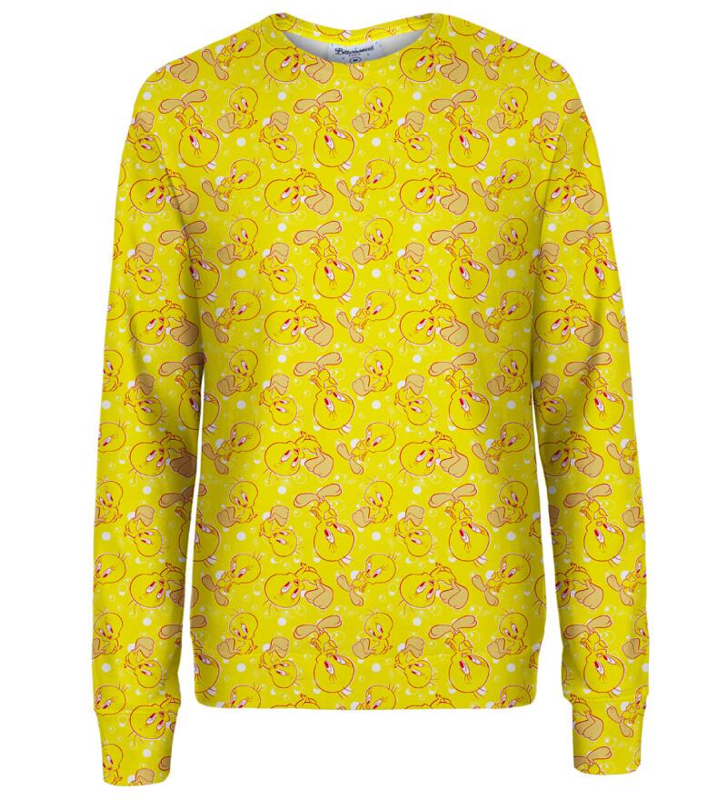 Tweety pattern womens sweatshirt