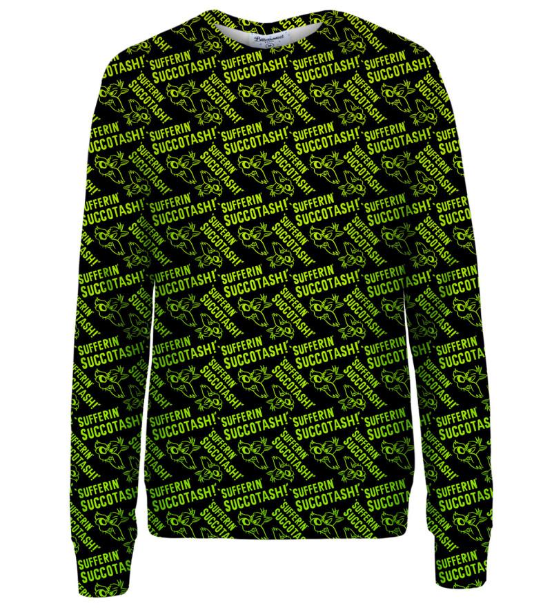 Sufferin succotash womens sweatshirt
