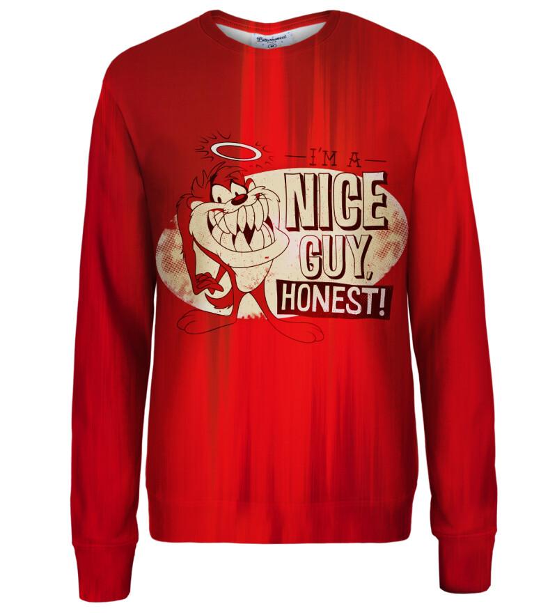 Nice guy womens sweatshirt