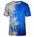 T-shirt White and Blue