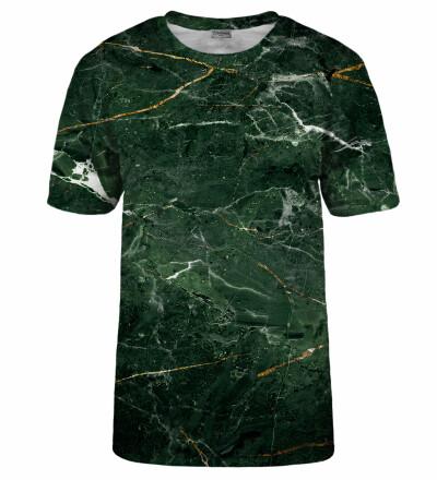 T-shirt Green Marble