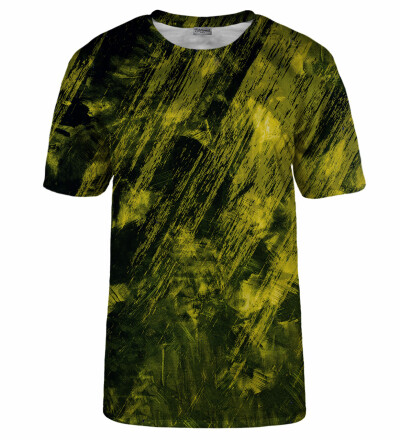 T-shirt Yellow Scratch