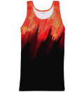Red Painting Tank Top