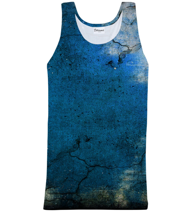 Dirty Blue Tank Top