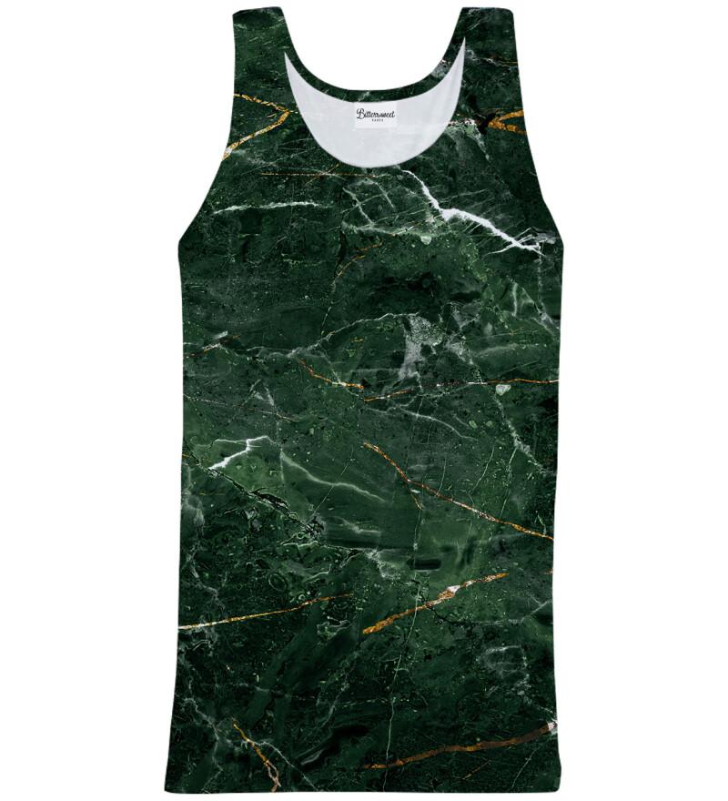 Green Marble Tank Top
