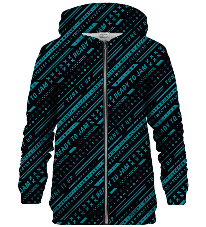 Ready to Jam zip up hoodie