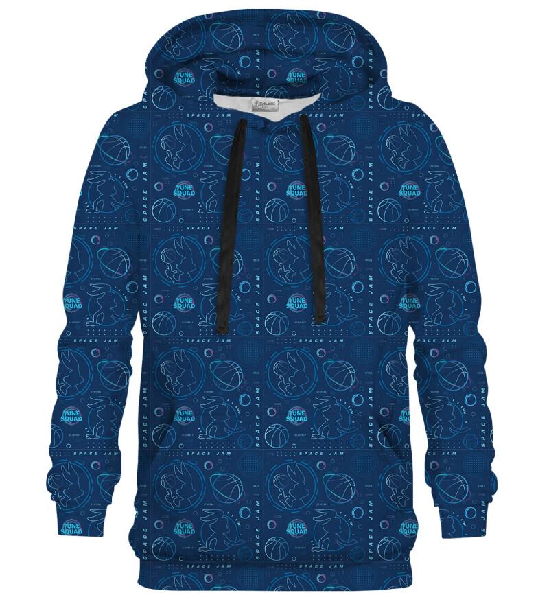Tune Squad Pattern hoodie