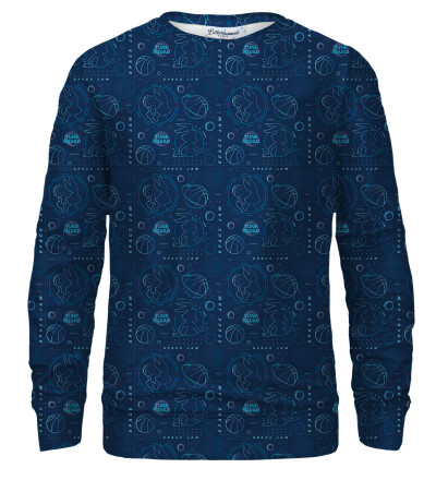 Tune Squad Pattern bluse med tryk