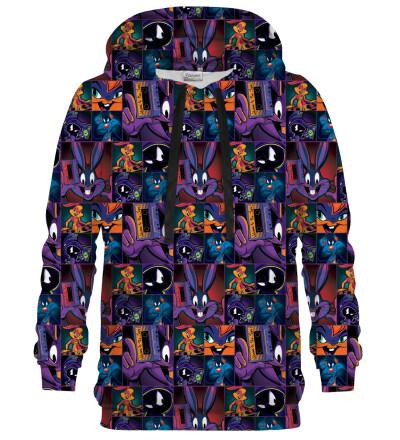 Space Jam pattern hoodie