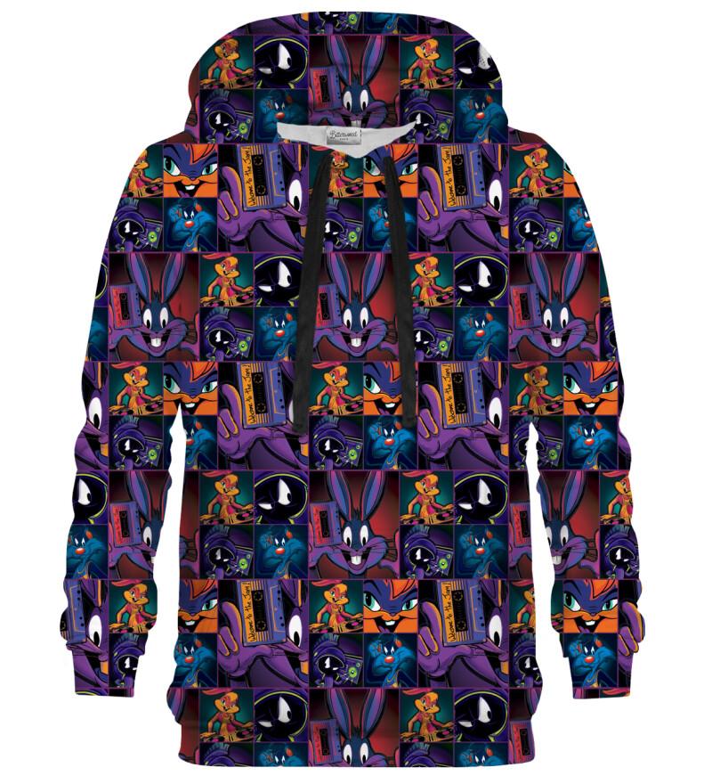 Bluza z kapturem Space Jam pattern
