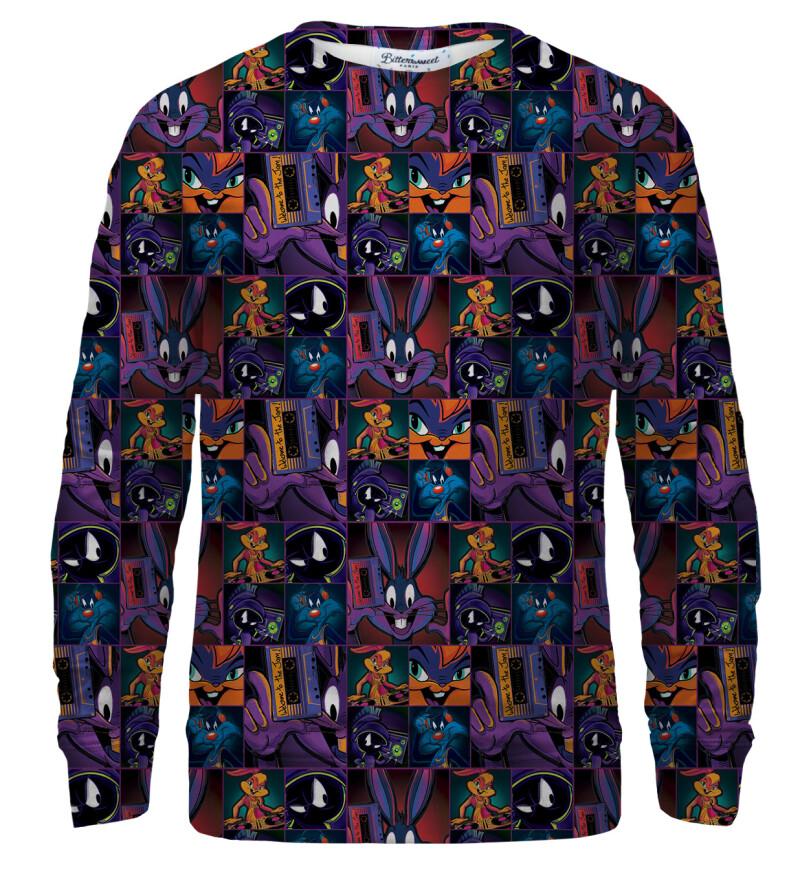 Space Jam pattern sweatshirt