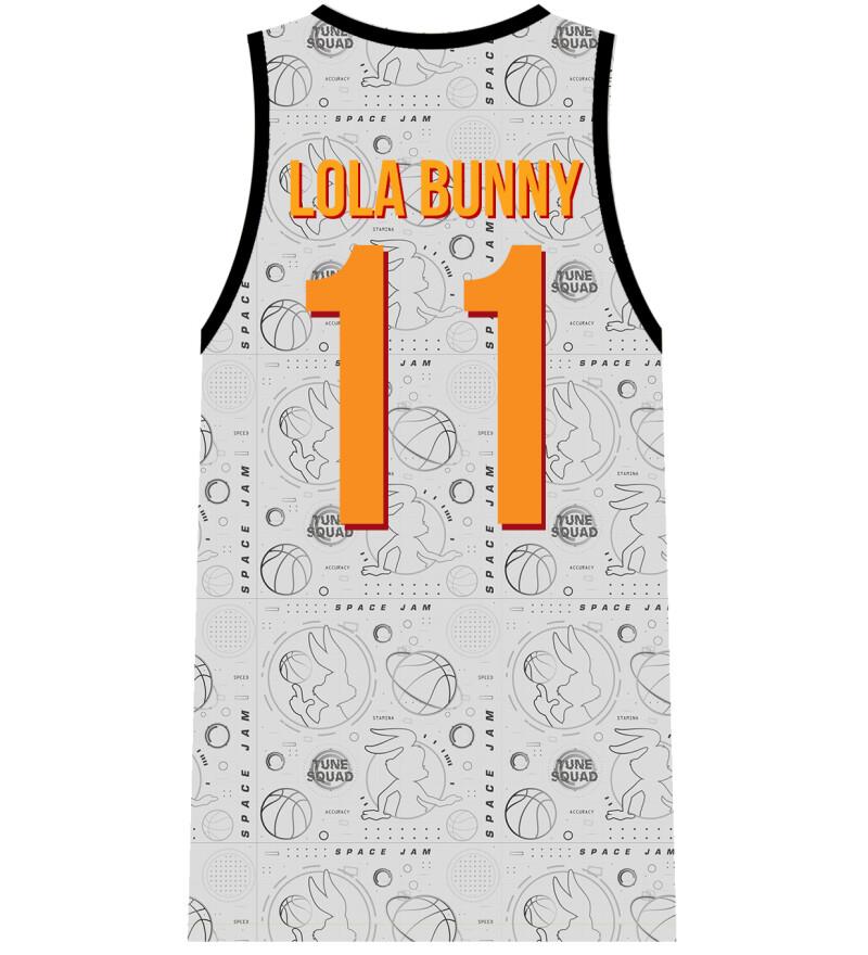 Lola Bunny Tune Squad white jersey