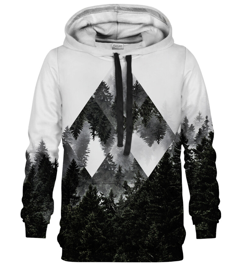 Rombic Forest Grey hoodie