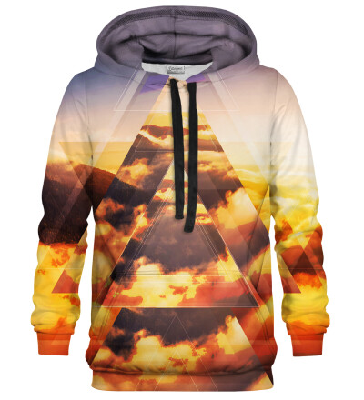 Geometric Sunrise hoodie