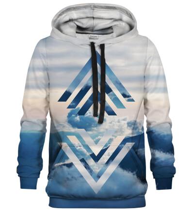 Geometric Clouds hoodie