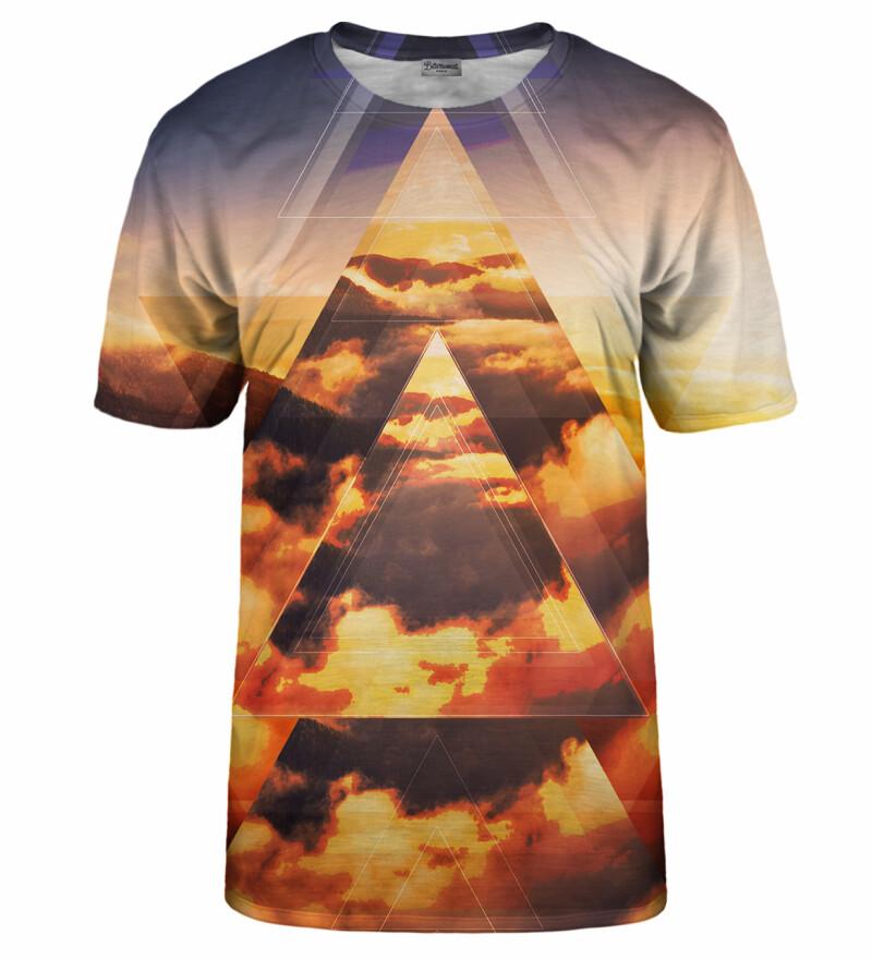 Geometric Sunrise t-shirt