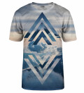 Geometric Clouds t-shirt