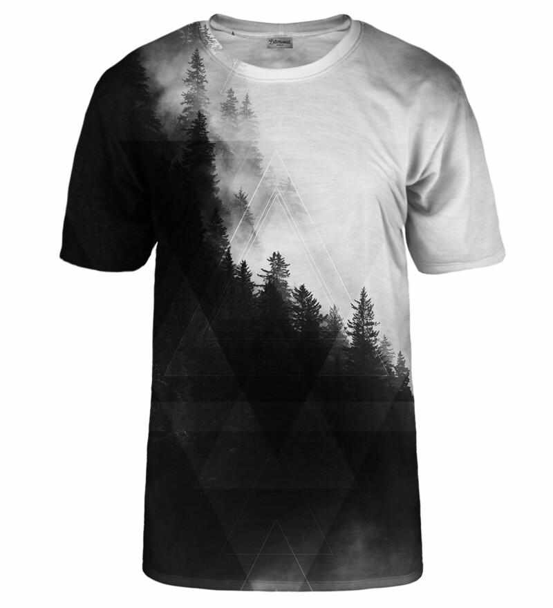 Geometric Forest Grey t-shirt