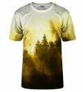 Symmetrical Yellow Forest t-shirt