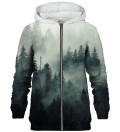 Morning Forest zip up hoodie