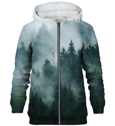 Misty Forest zip up hoodie