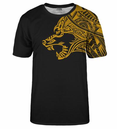 Golden Polynesian Wolf t-shirt