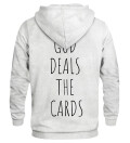 God deals the card hoodie