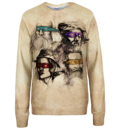 Ninja Artists womens sweatshirt