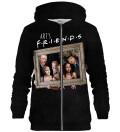 Art Friends zip up hoodie