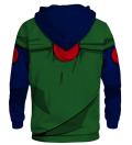 Printed Hoodie - Green Ninja