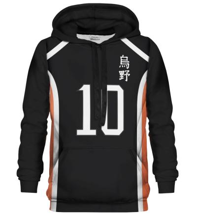 Number 10 hættetrøje