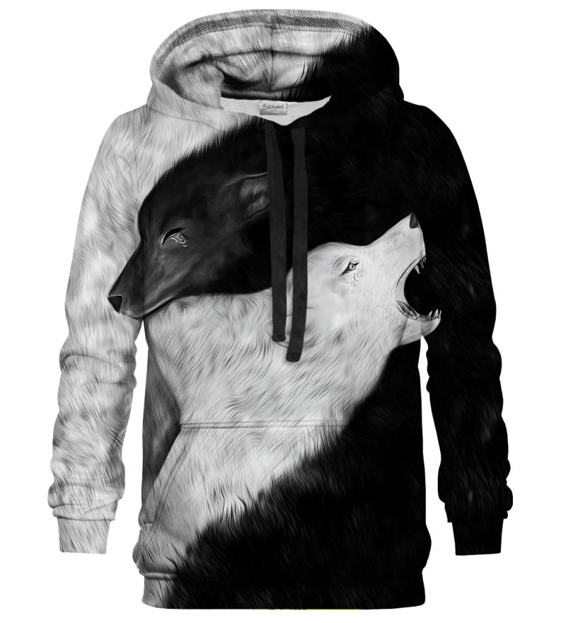 Printed Hoodie - YY Wolves