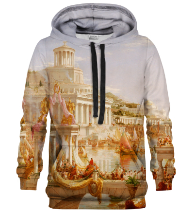 Printed Hoodie - Course of Empire
