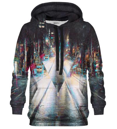 Bluza z kapturem Glitch City