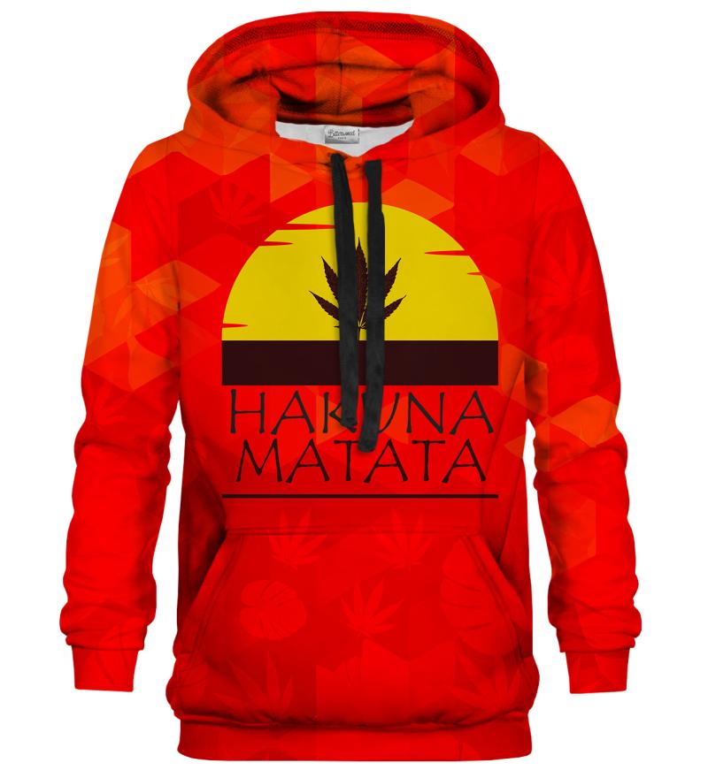 Printed Hoodie - Hakuna