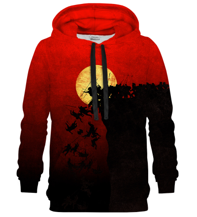 Printed Hoodie - To the cliffs