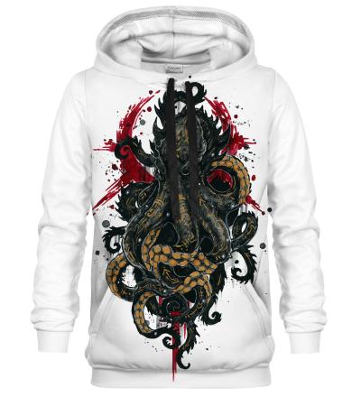 Printed Hoodie - Kraken