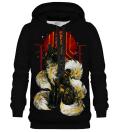 Kitsune Black hoodie