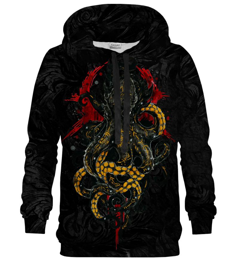 Printed Hoodie - Myth Kraken