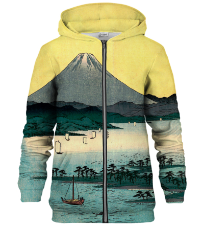 Bluza z zamkiem Pine beach at Miho