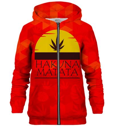 Bluza z zamkiem Hakuna Matata