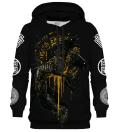 Greek Orthrus Black hoodie