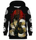 Asian Kitsune Black hoodie