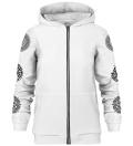 Mexican Balam zip up hoodie