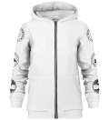 Nordic Jormungandr zip up hoodie
