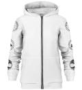 Nordic Kraken zip up hoodie