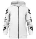 Asian Kitsune zip up hoodie