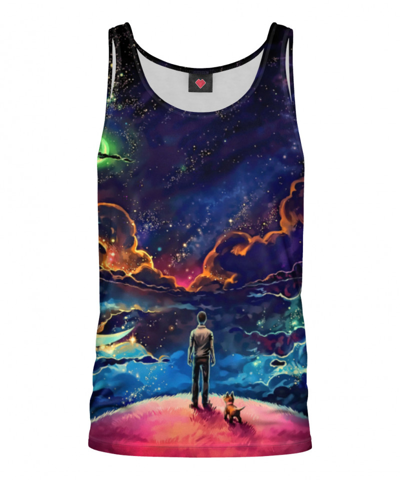 A MAN AND HIS DOG Tank Top