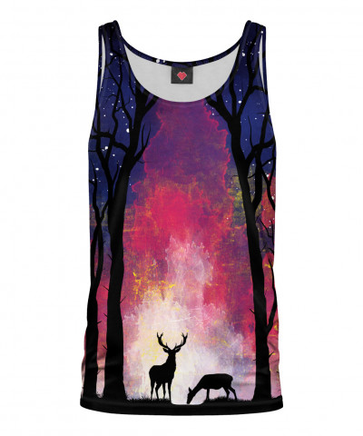 DEER IN THE FOREST Tank Top