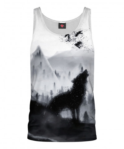 THE LONE WOLF Tank Top